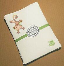 Handmade Paper Sheets - 10 sheets - Baby Animals  (862) Free Shipping