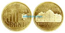 50 bani 2015 moneda 10 Aniversario: re-nominación moneda nacional de Rumanía