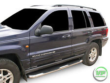 Jeep Grand Cherokee 1999-04 Side bars CHROME stainless steel side steps