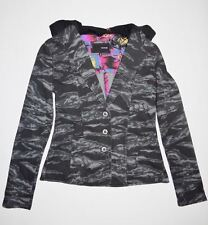 New Hurley Womens Winchester Blazer Fleece Hooded Light Weight Casual Jacket