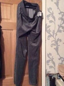 Armani EA7 Jogging Pants Velour M
