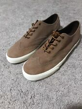 Polo Ralph Lauren Vultan Wingtip Oxfords Shoes New Mens 12 Tan