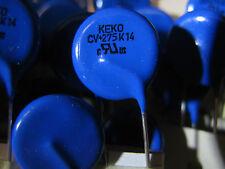 SALE: 2x  275V AC 350V DC MOV varistor KEKO CV+ 275K14 Extended specs EU seller