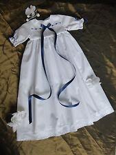 Taufkleid, Junge/Mädchen, Baumwolle,in Größe 50-56-62-68-74-80-86-92  lieferbar