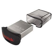 SanDisk 16gb Ultra Fit Cz43 USB 3.0 Flash Drive Stick 16 GB Pen