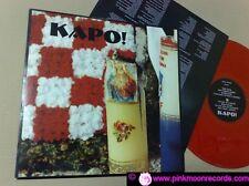 DEATH IN JUNE presents  KAPO! 1996 UK TWILIGHT COMMAND RED VINYL LP WITH INNER