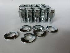 """Holden FX - WB 7/16""""UNF Cragar SS Uni Lug Mag Wheel Nuts & 20 Washers"""