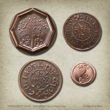 """THE HOBBIT """"THE SHIRE"""" Coin Set Shire Post Mint NEW"""
