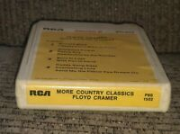 MORE COUNTRY CLASSICS Floyd Cramer 8-Track tape The Best of/greatest hits RCA