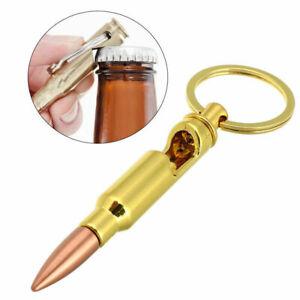 Shell Bullet Bottle Opener Caliber Party Bar Beer Tool Gift Filler Keyring chain