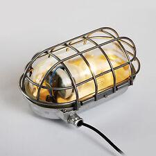 Bunker Lampe Industrie Design Leuchte Fabriklampe Ex-Lampe Vintage antik EOW DDR