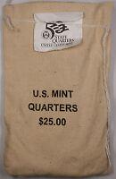 $25 (100 UNC coins) 2000 South Carolina - D State Quarter Original Mint Sewn Bag
