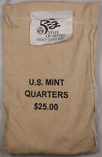 $25 (100 UNC coins) 2006 South Dakota - P State Quarter Original Mint Sewn Bag