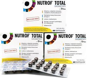 Nutrof Totale TOTAL vit D3 Thea - ottima visione 30-180 CAPSULES ottima visione