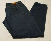 Tommy Hilfiger Perfect Womens Jeans  Size 14 Blue 29 by 43 Straight Leg