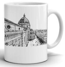 Florence 11 oz Ceramic High Quality Coffee Mug