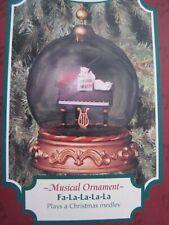 San Francisco Music Box Company Ornament Fa - La - La - La - La in Box Good Con