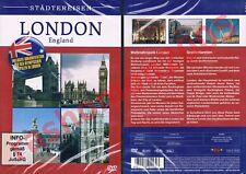 DVD STÄDTEREISEN LONDON ENGLAND INKL. DOKU ÜBER OLYMPISCHE SPIELE 1908+1948 NEU