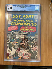 Sgt. Fury and His Howling Commandos #10 CGC 9.0 1st full app. of Captain Savage