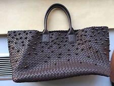 Bottega Veneta brown taupe knot cabat large bag tote limited edition sold out