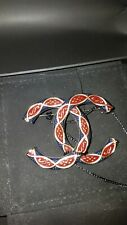 CHANEL Brooch CC Interlocking Sold Out