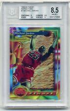 🔥 1993-94 Finest Refractor Michael Jordan #1 BGS 8.5 SUB (2) 9.5 & 9 Subgrades!