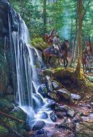 """Shenandoah Mountain Passage"" John Paul Strain Classic Canvas Giclee A/P"