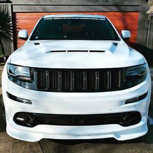 2012-2016 Jeep Grand Cherokee SRT8 Trackhawk Front Bumper Lip Splitter spoiler