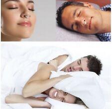 Magnet Schnarchstopper Hilfe gegen Schnarchen Snore free Stopper Slumber Silikon