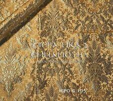 "Liturgical vestments brocade fabric metallic 6 105, width is 155 cm-61"""