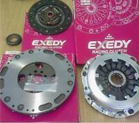 EXEDY RACING CLUTCH KIT AND FLYWHEEL FOR MITSUBISHI EVO 1 2 AND 3