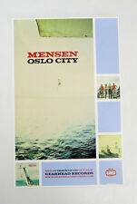 Mensen - Oslo City Promo Poster Girl Rock Gearhead New full color