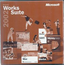 Microsoft Works Suite 2002 - New - Sealed - With Product Key