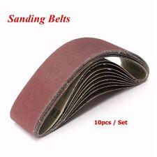 10pcs Sanding Belt 80 Grit 100 x 915mm Sander For Metal Wood Grinding  Belt Sand