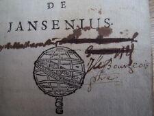 Jansénisme / Histoire des cinq propositions de Jansenius  1700
