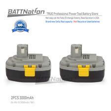 2x 18V 3.0AH Ni-Mh Battery for Panasonic EY9251 EY9251B Cordless Tool