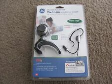 Brand New GE Universal All-in-One Webcam with Bonus Ear Set 98650