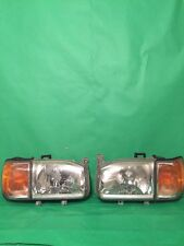 00-04 NISSAN PATHFINDER GENUINE FACTORY HEADLIGHT AND BLINKERS SIGNAL LIGHTS