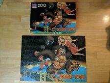COMPLETE Donkey Kong Jigsaw Puzzle Vintage - 1981 - 200 Pieces Mario Nintendo MB