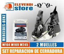SET REPARACION DE CERRADURA Mercedes W169 W164 W245 A B Clase ML - 2 muelles