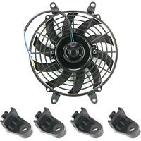 "9"" Car Electric Radiator Universal Electric Radiator Cooling Fan Mounting New"