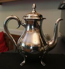 Theodor Olsens Noruega Chapado en Plata de ley olla de agua caliente de café