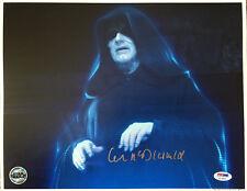 IAN MCDIARMID SIGNED AUTOGRAPHED 11x14 PHOTO PALPATINE STAR WARS OPX PSA/DNA
