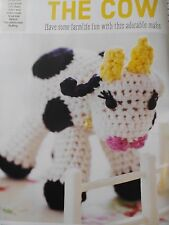 CROCHET PATTERN Daisy The Cow Toy Farm Animal Doll Childrens Display PATTERN