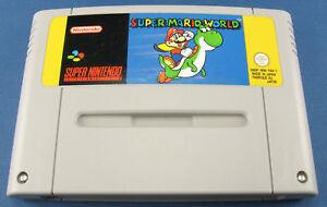 Super Nintendo Spiel - Super Mario World - Modul - SNES