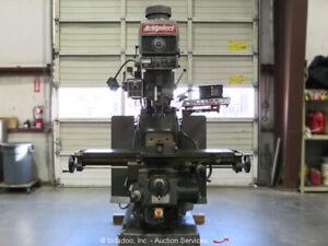 Bridgeport Series II 3-Axis Vertical Knee Mill Milling Machine Kurt Vise bidadoo