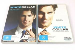 White Collar : The Complete Season 1 & 2 - Excellent Condition