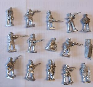 28mm ACW 16 figures from Comrades in Battle. For skirmish gaming. New condition
