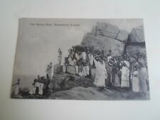 Vintage Postcard THE SWAMY ROCK, TRINCOMALIE, CEYLON  No 221    §A865