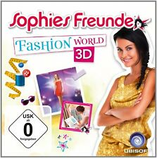 Sophies Freunde - Fashion World 3D Nintendo 3DS NUOVO + conf. orig.